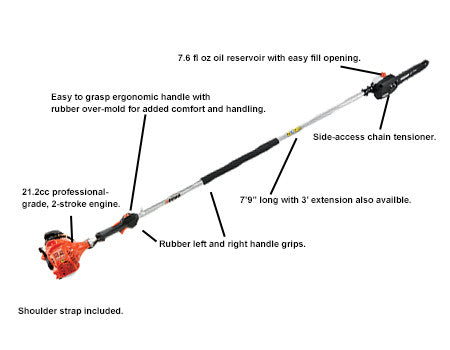 Power Pruner PPF225 Fixed