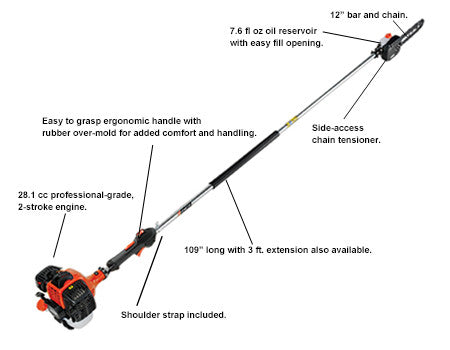 Power Pruner PPF280 Fixed