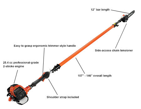 Power Pruner PPT266H Telescope Shaft