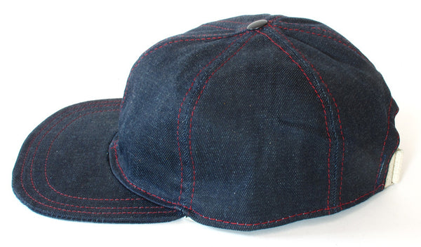 Waxed Denim Six Panel Hat