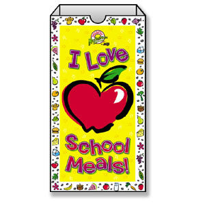 I Love School Meals Super Sack
