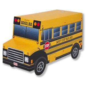 Ready to Assemble School Bus Carton