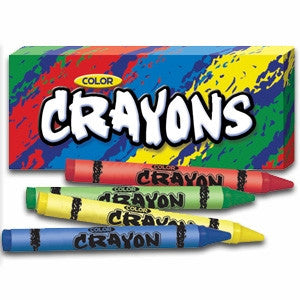 4 pack of color crayons
