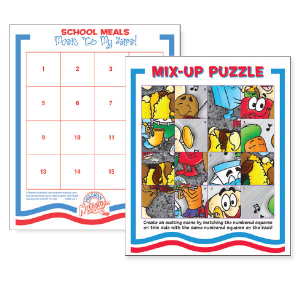 Music To My Ears- Activity Puzzle