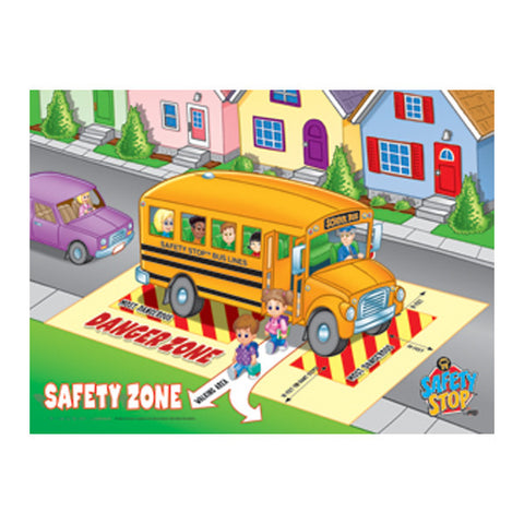 Plastic Lenticular (3D) Safety Zone Poster