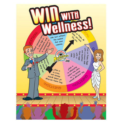 Win with Wellness Poster