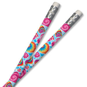 Tie-Dye Heart Pencil