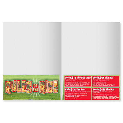 Safety Stop 2-Pocket Folder