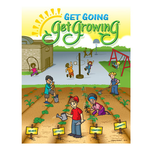 Get Going Get Growing Poster