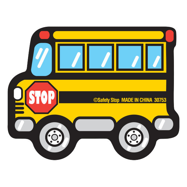 School Bus Eraser