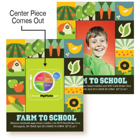 Farm To School Photo Frame Magnet