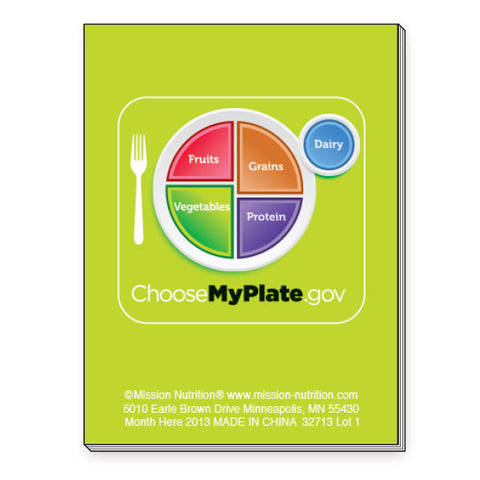 Choose MyPlate Notepad