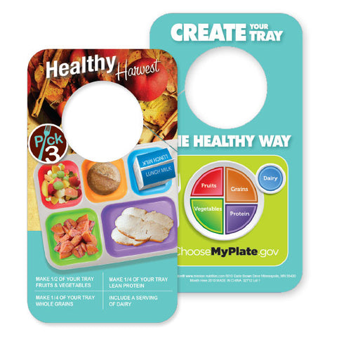 Healthy Harvest Door Hanger