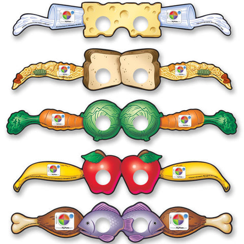 Choose MyPlate Silly Glasses