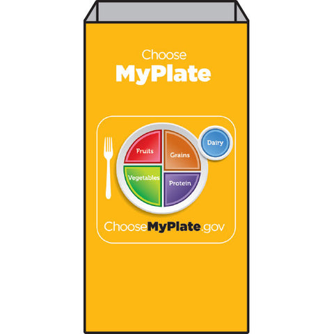 Orange MyPlate Super Sack