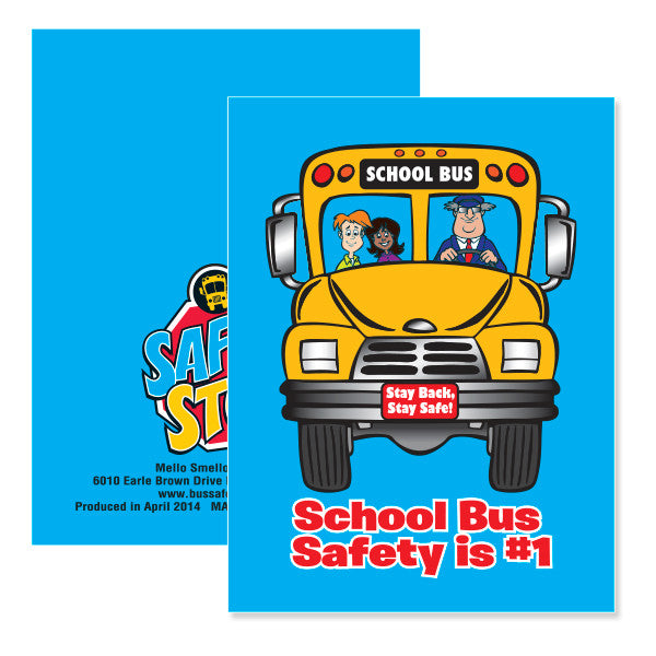 Bus Safety Notepad