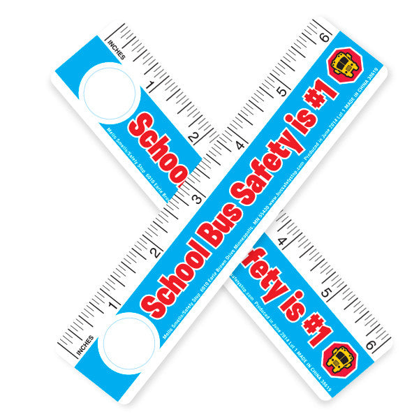 School Bus Safety Ruler