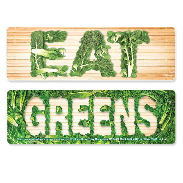 Eat Greens- Bookmarks
