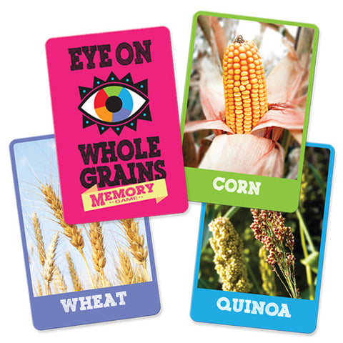 Eye On Whole Grains Memory Game