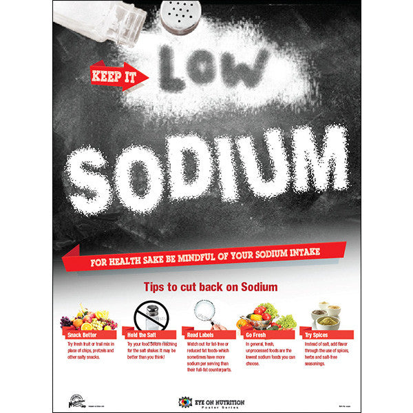 Keep It Low Sodium Poster