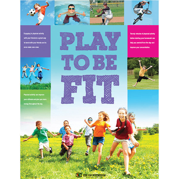 Play To Be Fit Poster