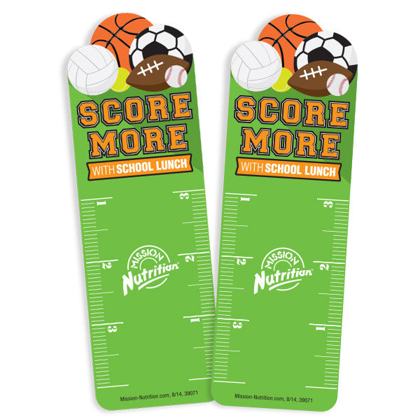 Score More- Bookmark Ruler