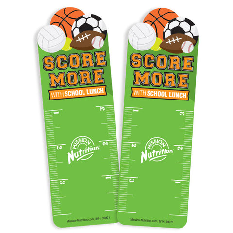 Score More Bookmark Ruler