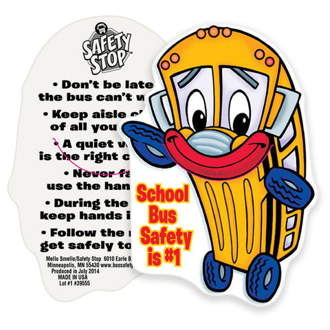 Bus Safety Bookmark