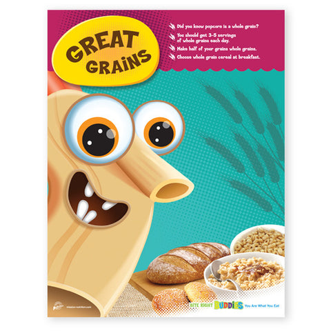 Great Grains Poster