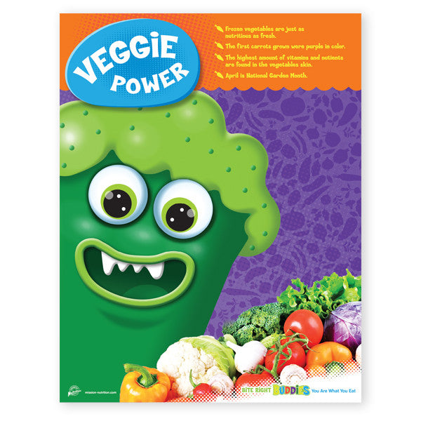 Veggie Power Poster