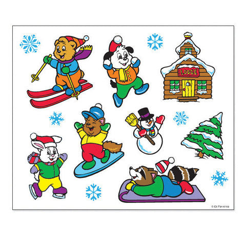 Winter Make-A-Scene Stickers