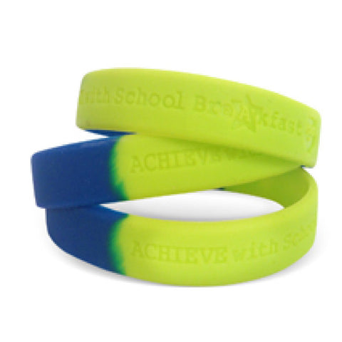 Achieve With School Breakfast Wristband