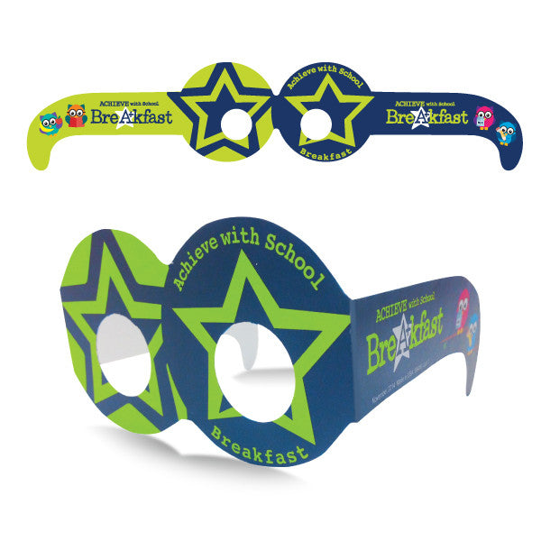 Achieve With School Breakfast Silly Glasses