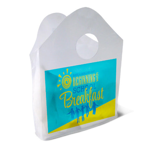 Have A Healthy Day with School Breakfast Plastic Bag