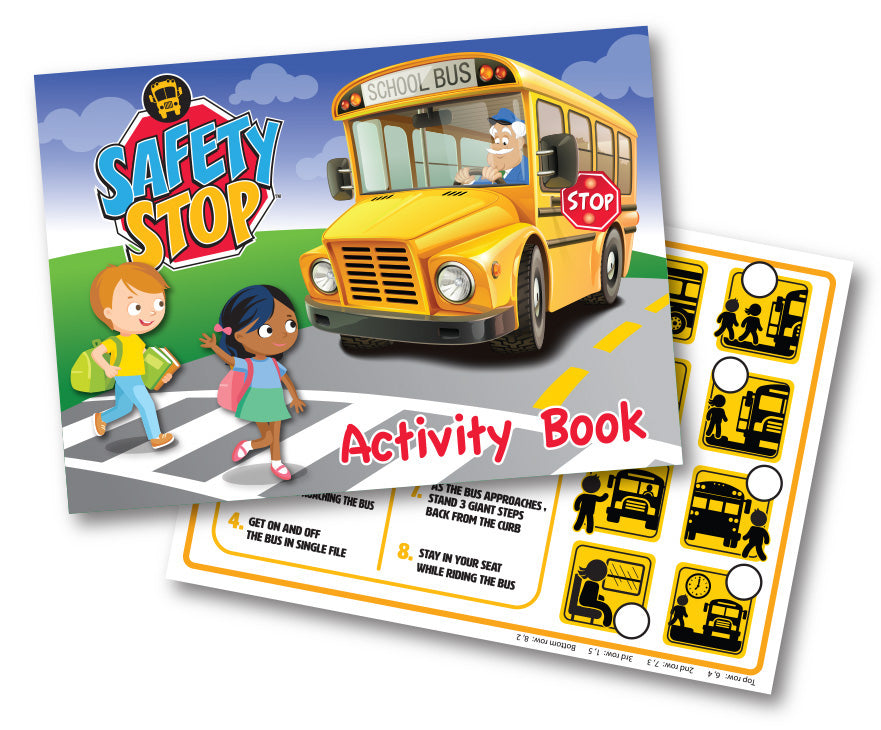 Bus Safety Activity Booklet