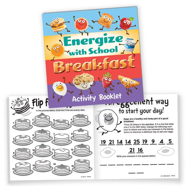Breakfast Nutrition- Activity Booklet