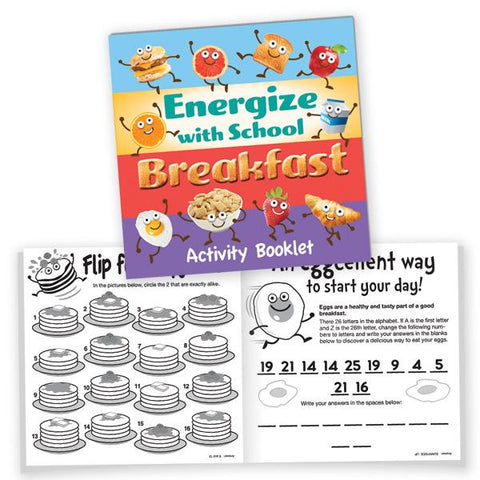 Breakfast Activity Book