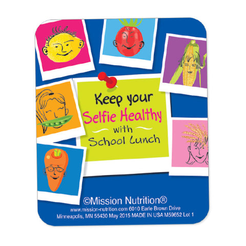 Selfie Healthy Picture Frame Magnet
