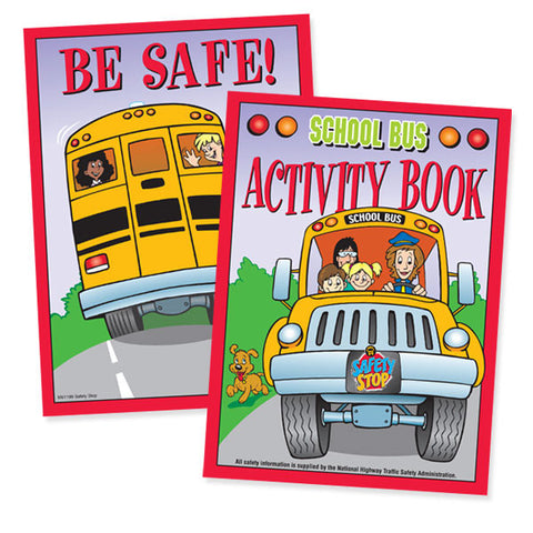 School Bus Activity Booklet