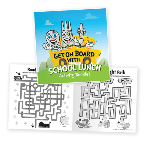 Lunch Activity Booklet