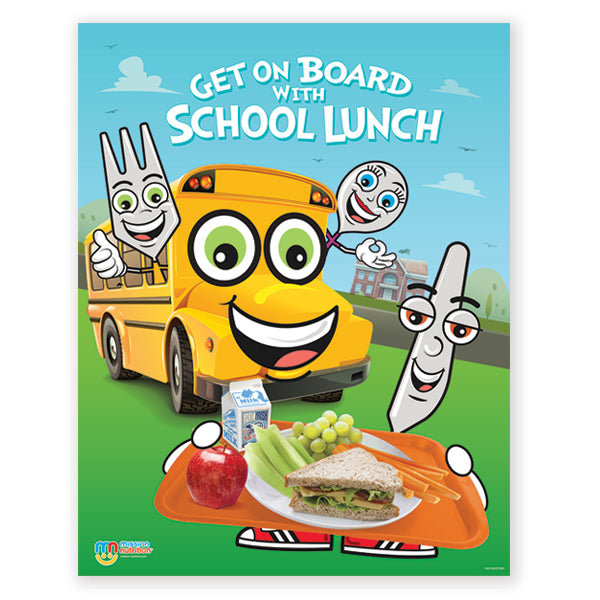 School Lunch- Poster