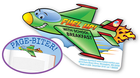 Fuel-Up! with School Breakfast Bookmark