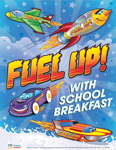 Fuel-Up! with School Breakfast Poster