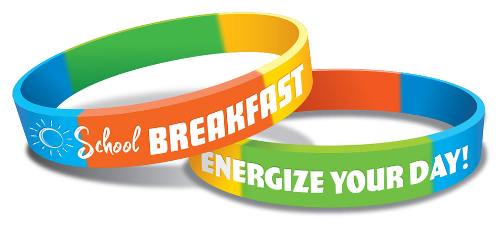 Energize Your Day with Breakfast! Wristband