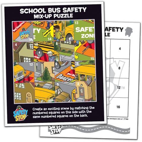 Safety Zone Mix Up Puzzle