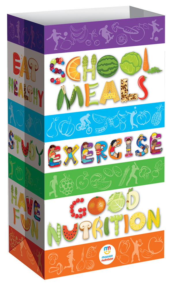 School Meals  Exercise - Good Nutrition - Meal Bags