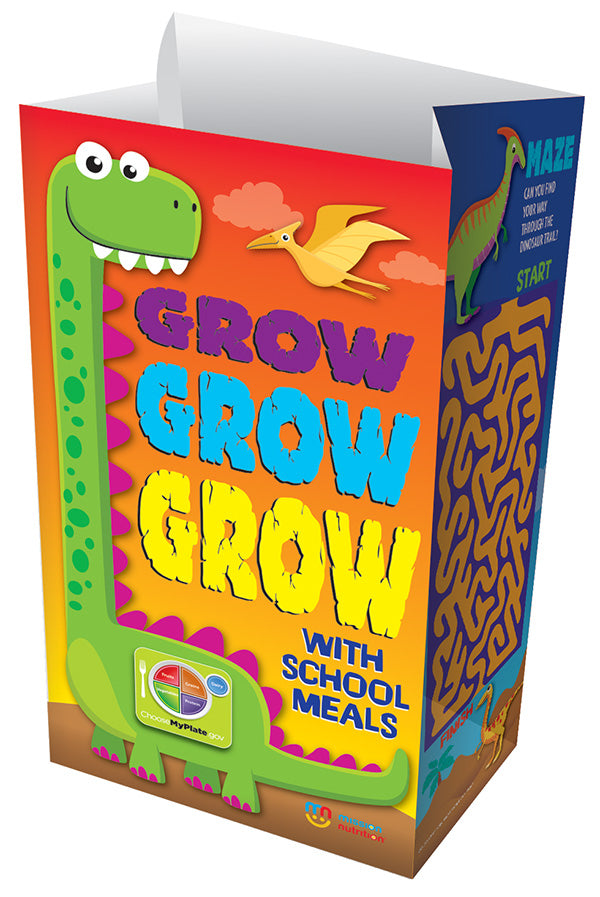 Grow! Grow! Grow With School Meals! Meal Bags