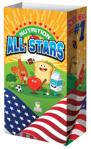 Nutrition All Stars - Meal Bag