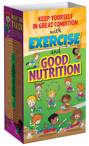 Good Condition - Exercise and Good Nutrition! Meal Bag