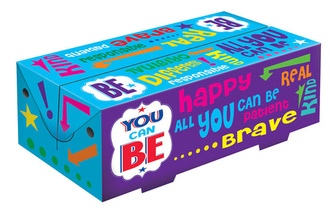 YOU CAN BE! FAST-TOP MEAL BOX 25O/CASE